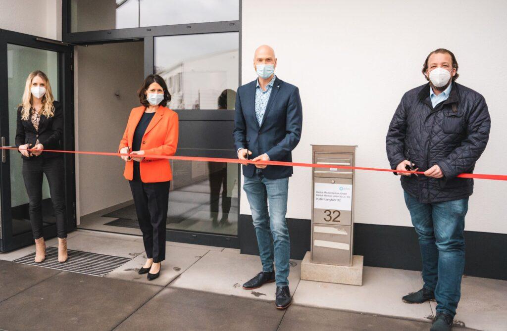 Eröffnung neues Firmengebäude
