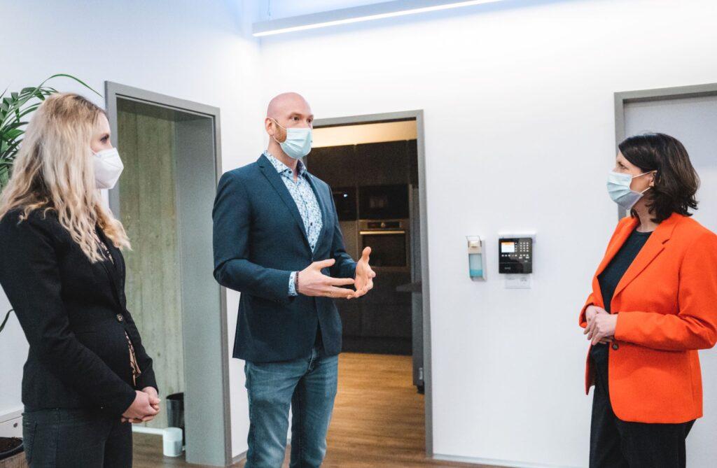 Eröffnung neue Baldus Firmenzentrale