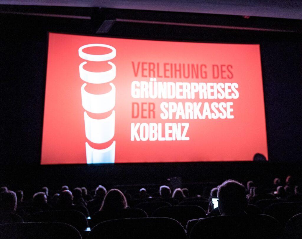 Verleihung Gründerpreis der Sparkasse Koblenz